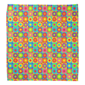 Flower power bandanas