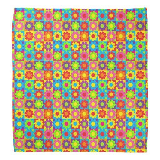 Flower power bandanas