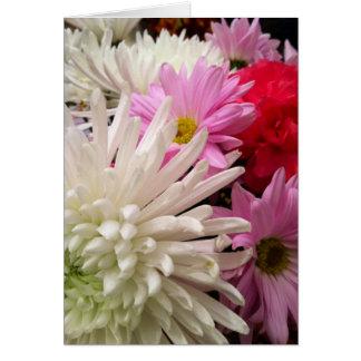 Flowers=smiles Cartão Comemorativo