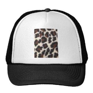 Fluff do leopardo boné