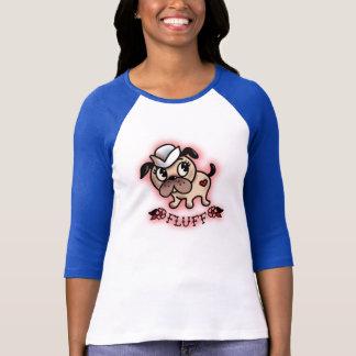 Fluff Monty a camiseta do cão do marinheiro