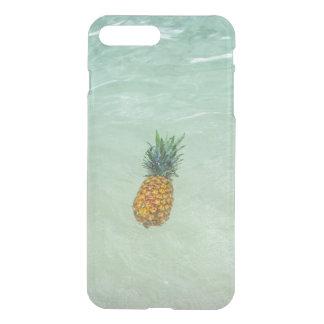 Flutuação/abacaxi tropical do acento da praia capa iPhone 7 plus