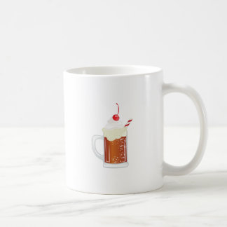 Flutuador do refrigerante root beer caneca de café