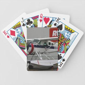 Flutue o plano 24, capa do lago, Alaska Baralhos Para Poker