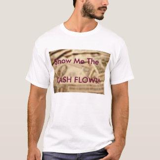 Fluxo de caixa camiseta