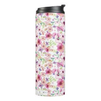 Fluxo - LONDRES - caneca de viagem floral/garrafa