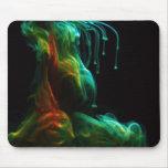 Fluxo na água /Fluorescein na água Mouse Pads