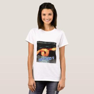 Fluxo obtido ultra-som? camiseta