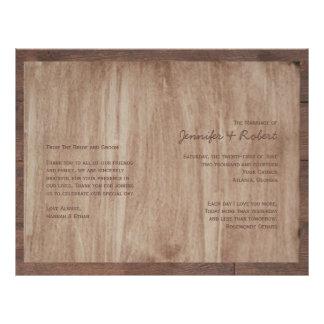 Flyer A madeira do celeiro carrega o programa do