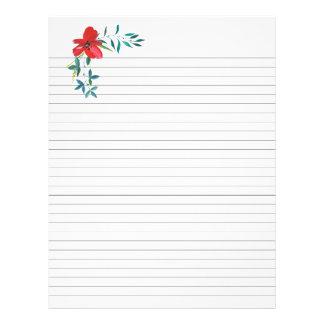 Flyer A receita alinhada pagina a inserção floral