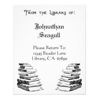 Flyer Biblioteca de insectos feitos sob encomenda do