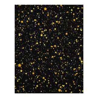 Flyer Brilho Stars3 - Preto do ouro
