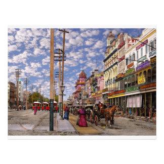 Flyer Cidade - Nova Orleães a era 1887 do Victorian