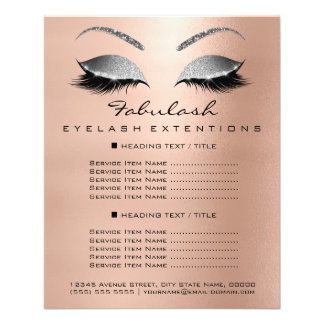 Flyer Cinzas cor-de-rosa do ouro do insecto do brilho do