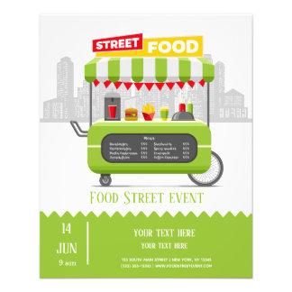 Flyer Comida da rua