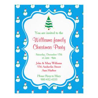 Flyer Convite da festa de Natal