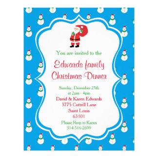 Flyer Convite do comensal de Natal