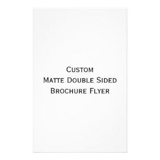 Flyer Criar o insecto tomado partido dobro Matte feito