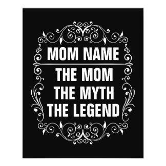 Flyer Dia das mães feliz da mamã
