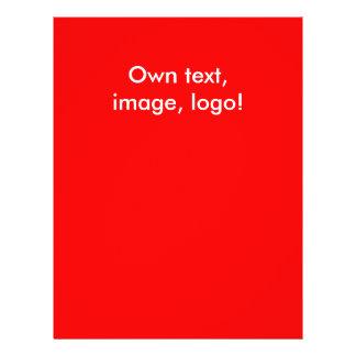 Flyer Do insecto vermelho uni