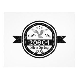 Flyer Estabelecido em 20904 Silver Spring