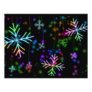 Flyer Estrela da neve