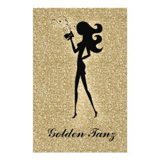 Flyer Faísca de 311 falsos do ouro do insecto de Tan do