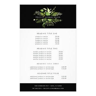 Flyer Fixação do preço & serviços selvagens do prado