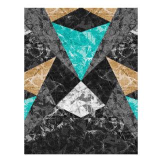 Flyer Fundo geométrico de mármore G430 do insecto