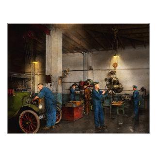 Flyer Garagem - mecânico - a revisão 1919