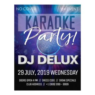 Flyer Insecto do clube do partido | DJ | do karaoke