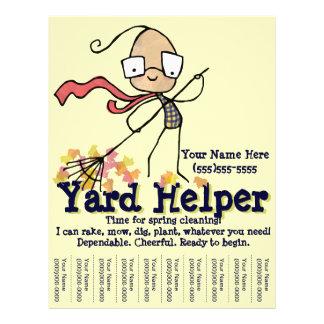Flyer Insecto do promocional do trabalho da limpeza do