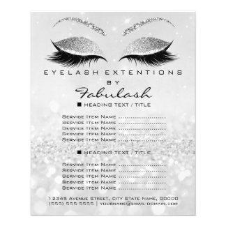 Flyer Insecto Silver2 do brilho do salão de beleza do