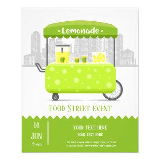 Flyer Limonada da rua da comida