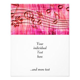 Flyer mais rosa da música