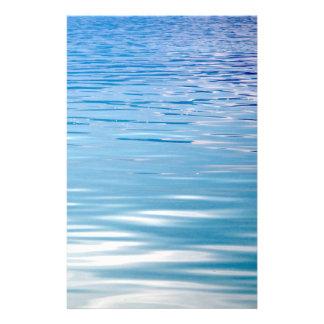 Flyer Mar do fundo da tranquilidade