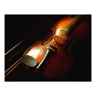 Flyer Música - violino - os clássicos