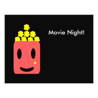 Flyer Noite de cinema!