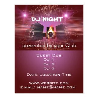 Flyer Noite do DJ