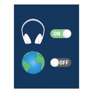 Flyer O interruptor da música