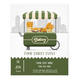 Flyer Padaria da rua da comida