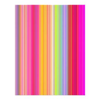 Flyer Personalize - o fundo multicolorido do inclinação