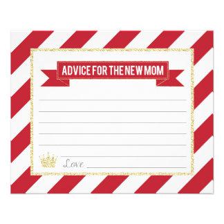 Flyer Príncipe vermelho Conselho do ouro para a mamã