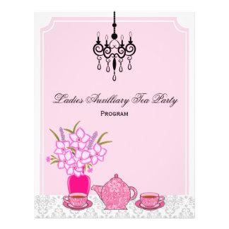 Flyer Programa do tea party