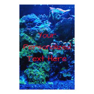 Flyer Recife de corais tropical