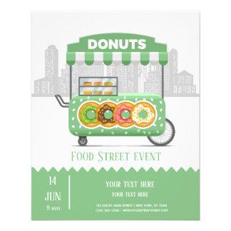 Flyer Rosquinhas da rua da comida