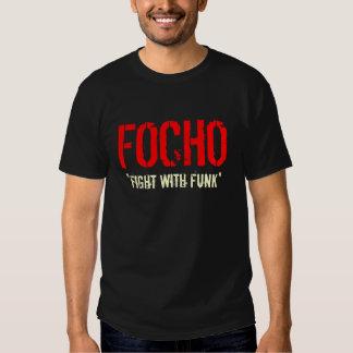 """FOCHO, """"luta com funk """" Tshirts"""