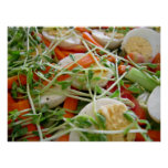 Foco na salada posters
