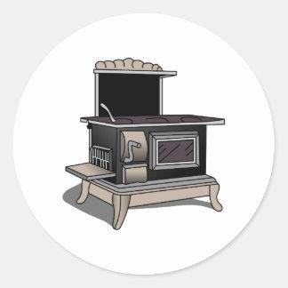 Fogão de cozinha adesivo