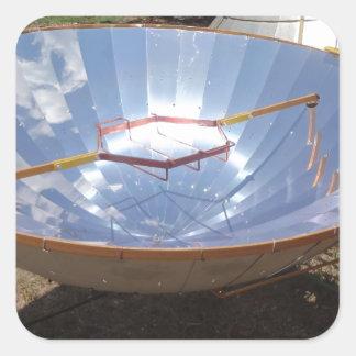 fogão solar adesivo quadrado